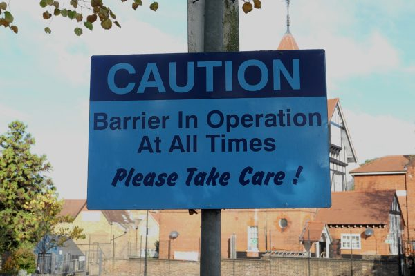 Barriers (in everyday life) 3